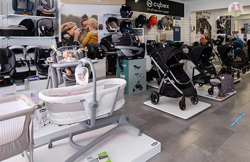 O Espaço da Loja do Bebé e do Brinquedo