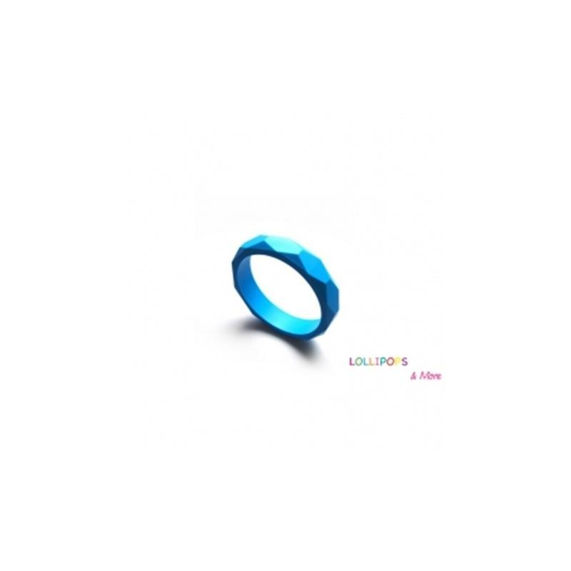 """Pulseira """"Jelly Belly by Lollipops and More"""" Deep SkyBlue"""